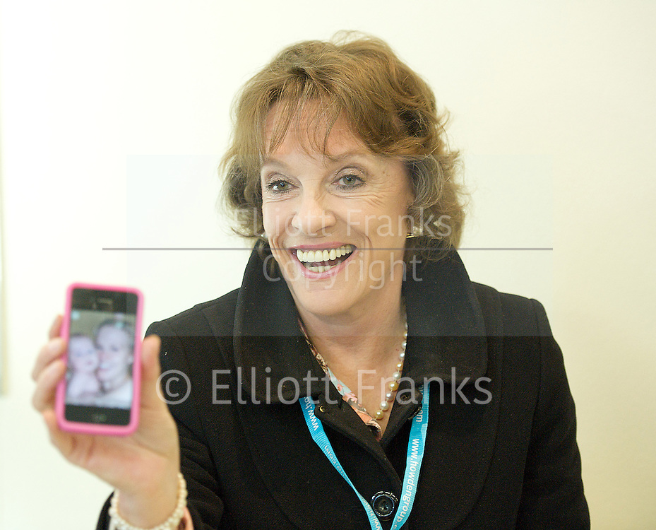 Conservative Party Conference, ICC, Birmingham, Great Britain <br /> Day 1<br /> 7th October 2012 <br /> <br /> <br /> Esther Rantzen <br /> speaking at fringe meeting <br /> WRVS &quot;Do older people have a voice in Today's Britain&quot;<br /> <br /> <br /> Photograph by Elliott Franks<br /> <br /> Tel 07802 537 220 <br /> elliott@elliottfranks.com<br /> <br /> &copy;2012 Elliott Franks<br /> Agency space rates apply