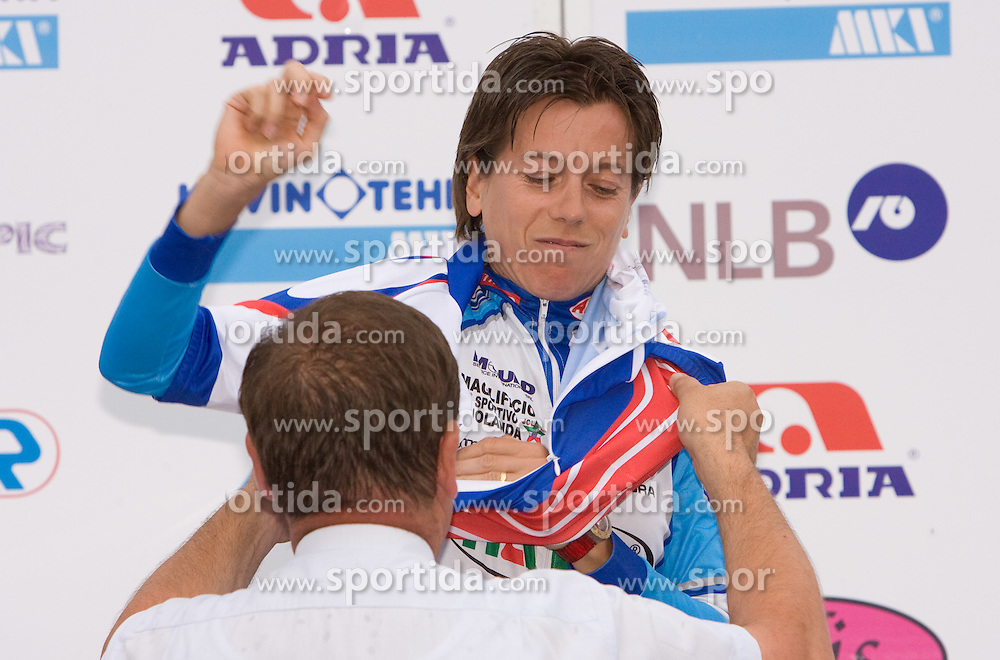 Sigrid Corneo at Slovenian National Championships in Road cycling, 178 km, on June 28 2009, in Mirna Pec, Slovenia. (Photo by Vid Ponikvar / Sportida)
