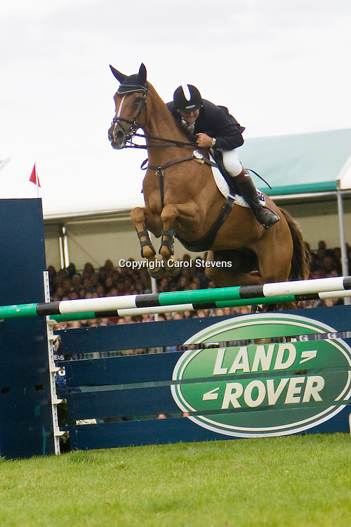 Clayton Fredericks at Burghley Horse Trials 2009