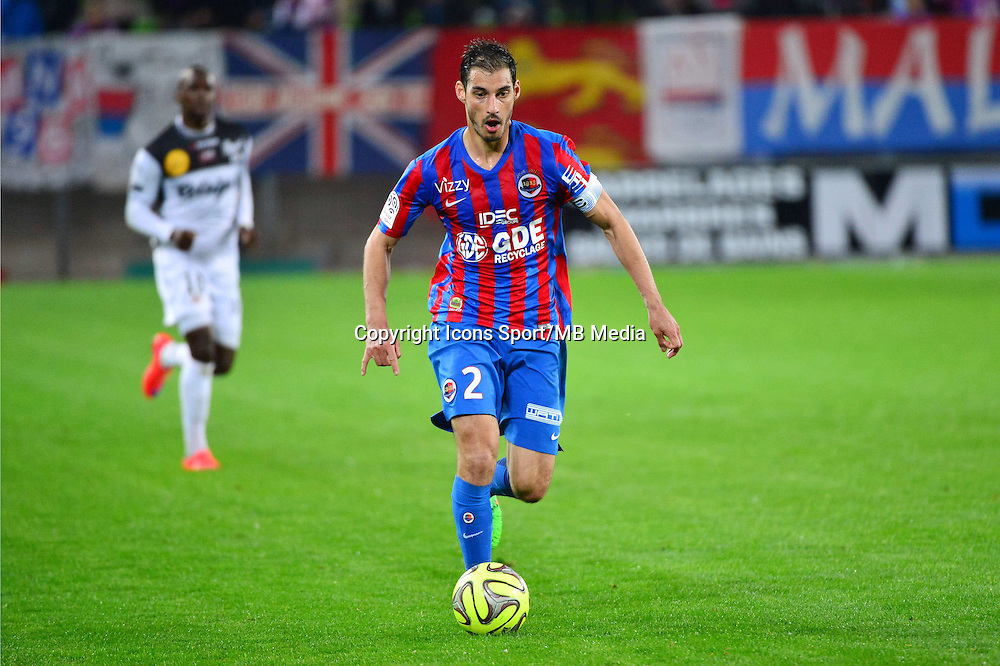 Nicolas SEUBE - 25.04.2015 - Caen / Guingamp - 34eme journee de Ligue 1<br /> Photo : David Winter / Icon Sport