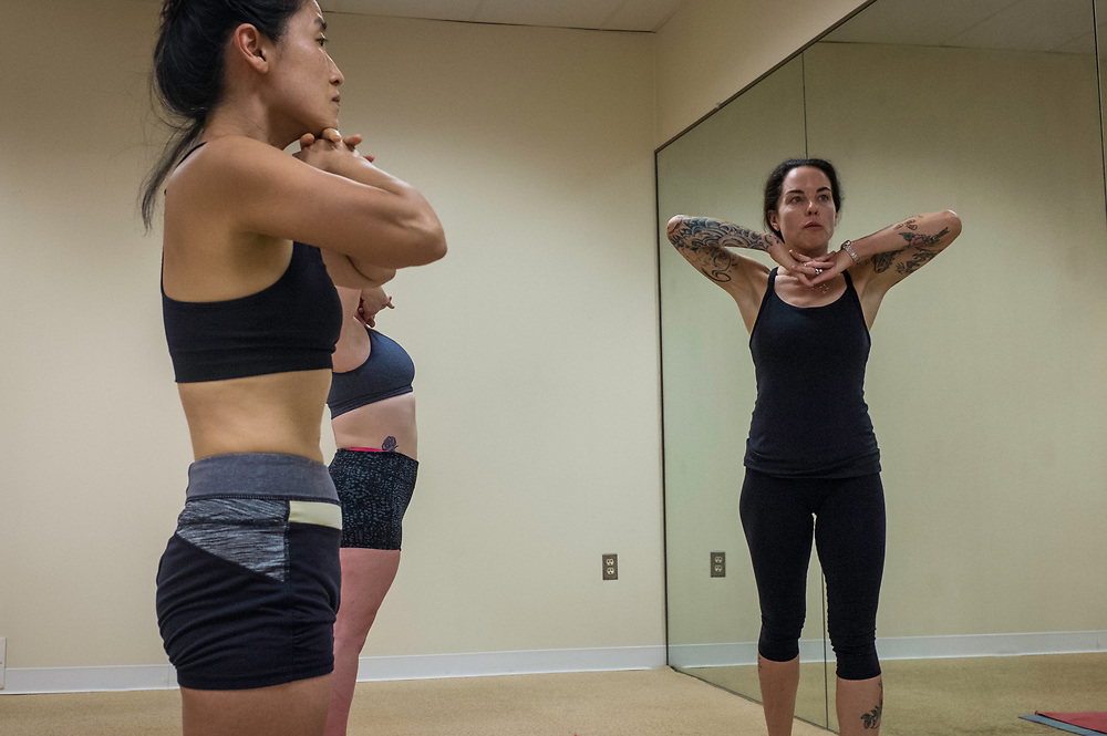 COLUMBIA, MD -- 9/9/17 -- Jena Blackwood teaches at BYC.…by André Chung #_AC39716
