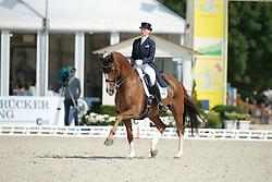 Balkenhol Anabel, (GER), Dablino FRH <br /> Grand Prix CDI4*<br /> CDIO Hagen 2015<br /> © Hippo Foto - Stefan Lafrentz<br /> 10/07/15