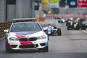 Daniel TICKTUM, GBR, Motopark Academy Dallara-Volkswagen behind the BMW safety car. <br /> <br /> 65th Macau Grand Prix. 14-18.11.2018.<br /> Suncity Group Formula 3 Macau Grand Prix - FIA F3 World Cup<br /> Macau Copyright Free Image for editorial use only