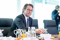 09 OCT 2019, BERLIN/GERMANY:<br /> Andreas Scheuer, CSU, Bundesverkehrsminister, vor Beginn der Kabinettsitzung, Bundeskanzöeramt<br /> IMAGE: 20191009-01-002<br /> KEYWORDS: Sitzung, Kabinett