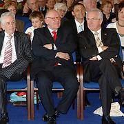 NLD/Huizen/20060323 - Afscheid burgemeester Jos Verdier als burgemester van Huizen, Cees Bakker, Frans Kolk, Jaap Kos