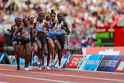 Women's 5000m during the Muller Anniversary Games 2019 at the London Stadium, London, England on 21 July 2019.