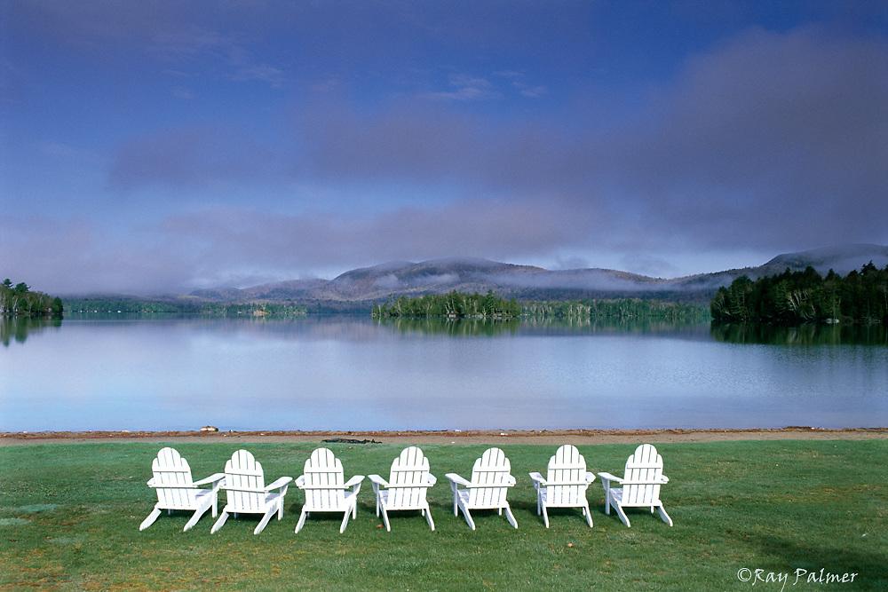 Seats to a View<br /> Blue Mountain Lake, Adirondack Mountains, NY