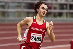 Boston University Multi-team indoor track & field, men 4x400 meter relay Sacred Heart