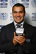 Club man of the year Onosai Auva'a.<br />Auckland Rugby Awards Evening, Sky City Convention Centre, Auckland, Friday 31 October 2008. Photo: Renee McKay/PHOTOSPORT