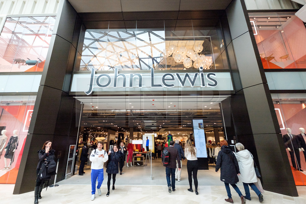 © Licensed to London News Pictures. 20/03/2018. London, UK. John Lewis store opens in Westfield London today launching the first phase opening of its £600m expansion, 6-months ahead of schedule. Photo credit: Ray Tang/LNP