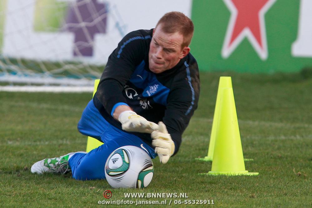 NLD/Katwijk/20110321 - Training Nederlandse Elftal Hongarije - NLD, Sander Boschker