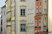 Altstadtgasse, Passau, Bayerischer Wald, Bayern, Deutschland | old town, Passau, Bavarian Forest, Bavaria, Germany