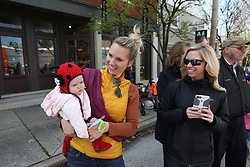 Winston Geerts at 1 year, Gemma Marie at 7 months, Alexander Wade 6 months Easter Celebration, Saturday, March 31, 2018  at Cedar Shake Shack, Geerts Grotto and the Komis Kastle in Louisville and Crestwood.