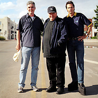 The Art Guys and Dave Hickey in Marfa, Texas