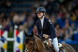 Seidl Ann-Sophie, GER, Berkzicht Rob<br /> Stuttgart - German Masters 2018<br /> © Hippo Foto - Stefan Lafrentz