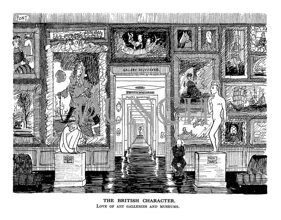 The British Character. Love of art galleries and museums.