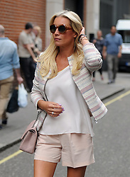 Denise Van Outen leaving Magic FM in London, UK. 17/05/2014<br />BYLINE MUST READ : GOTCHAIMAGES.COM<br /><br />Copyright by © Gotcha Images Ltd. All rights reserved.<br />Usage of this image is conditional upon the acceptance <br />of Gotcha Images Ltd, terms and conditions available at<br />www.gotchaimages.com