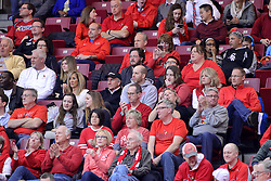 11 February 2017:  Sally Pyne during a College MVC (Missouri Valley conference) mens basketball game between the Bradley Braves and Illinois State Redbirds in  Redbird Arena, Normal IL