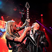 Judas Priest perfoms at Daily's Place ampitheater in Jacksonville, FL on Sept 12, 2018