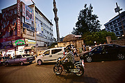 Gaziantep | 12 September 2015<br /> <br /> Street scene with a man on a motorbike in the center of the turkish city of gaziantep.<br /> <br /> &copy;peter-juelich.com<br /> <br /> [No Model Release | No Property Release]