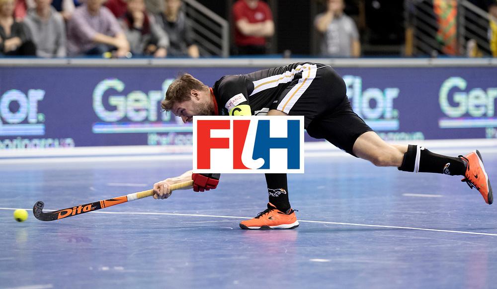 BERLIN - Indoor Hockey World Cup<br /> Semi-final 1: Germany - Iran<br /> foto: Martin H&auml;ner.<br /> WORLDSPORTPICS COPYRIGHT FRANK UIJLENBROEK