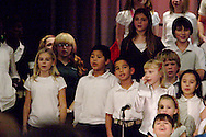 A glimpse at 'Shine the Light!,' the band and choral music show at Cleveland PK-8 school in Dayton, Tuesday, December 14, 2010.