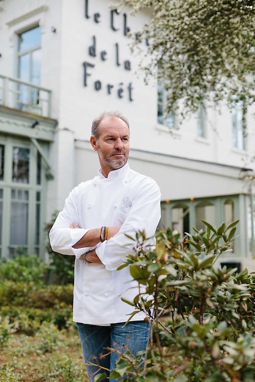 Pascal de Valkeneer, Chef at Le Chalet de Foret