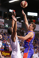 28/02/2015 NBL Semi Final Adelaide 36ers vs NZ Breakers at the Adelaide Arena