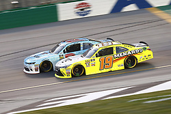 July 13, 2018 - Sparta, Kentucky, United States of America - Matt Tifft (2) and Brandon Jones (19) battle for position during the Alsco 300 at Kentucky Speedway in Sparta, Kentucky. (Credit Image: © Chris Owens Asp Inc/ASP via ZUMA Wire)