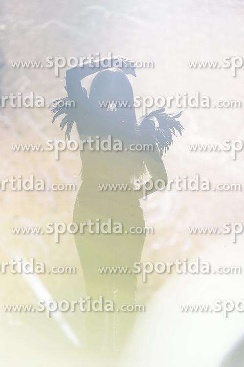 18.05.2015, Stadthalle, Wien, AUT, Eurovision Songcontest Vienna 2015, Kostümrpobe des Ersten Semifinales, im Bild Nina Sublatti aus Georgien // Nina Sublatti from Georgia during dress rehearsal of the 1st semi final for Eurivision Songcontest Vienna 2015 at Stadthalle in Vienna, Austria on 2015/05/18, EXPA Pictures © 2015, PhotoCredit: EXPA/ Michael Gruber