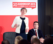 Labour Party Leadership and Deputy Leadership Hustings - East of England - The first of Labour&rsquo;s Leadership and Deputy Leadership regional and national hustings moderated by Gaby Hinsliff at The Forum Banqueting Suites Stevenage  20 June 2015 <br /> <br /> <br /> <br /> leader candidates <br /> <br /> <br /> Yvette Cooper<br /> <br /> <br /> <br /> Photograph by Elliott Franks <br /> <br /> <br /> <br />  <br /> Image licensed to Elliott Franks Photography Services