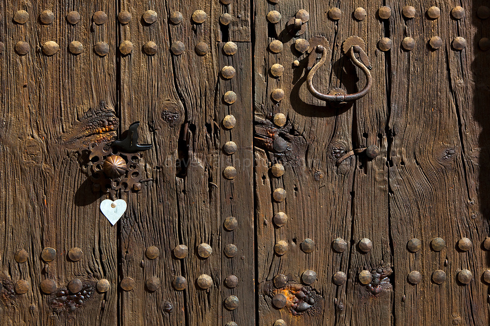 Door in Pollenca, in north western Mallorca.