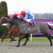 Silver Fawn and Jimmy Quinn winning the 5.30 race