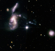 Hickson Compact Group 31, one of 100 compact galaxy groups catalogued by Canadian astronomer Paul Hickson. Credit NASA. Science Astronomy