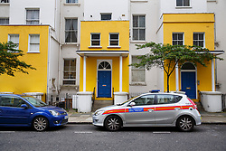 © Licensed to London News Pictures. 27/05/2014. LONDON, UK. An investigation has been launched by police after a man is shot and seriously ill in hospital in Colville Gardens, Ladbroke Grove on Monday night of 26 May 2014. Photo credit : Tolga Akmen/LNP