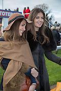 LADY NATASHA RUFUS ISAACS; EDWINA HADDEN; , Hennessy Gold Cup, The Racecourse Newbury. 30 November 2013.