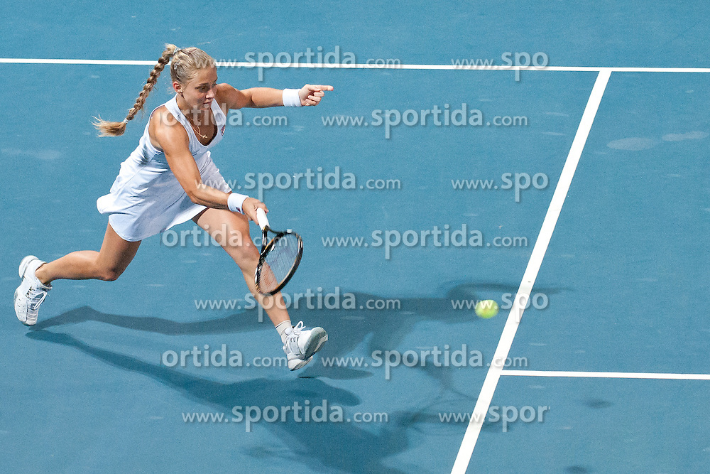 Anna Chakvetadze of Russia at final match of Singles at Banka Koper Slovenia Open WTA Tour tennis tournament, on July 25, 2010 in Portoroz / Portorose, Slovenia. (Photo by Matic Klansek Velej / Sportida)