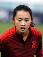 International Women's Friendly Matchs 2019 / <br /> Womens's Algarve Cup Tournament 2019 - <br /> Denmark v China 1-0 ( Complexo Desportivo - Vila Real Santo Antonio,Portugal ) - <br /> HUANG YINI of China