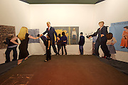 """Art 38 Basel. Art Unlimited Pre-Opening. Jim Shaw, """"Dream Object (A Later Room Contains Murals Of Dan Quayle...)"""", 2007. Patrick painter Inc., Santa Monica."""