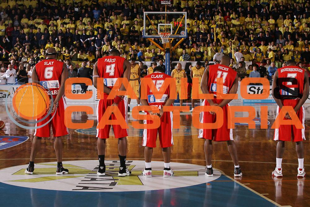 DESCRIZIONE : Porto San Giorgio Lega A1 2007-08 Premiata Montegranaro Scavolini Spar Pesaro <br /> GIOCATORE : Minuto Silenzio Martolini <br /> SQUADRA : <br /> EVENTO : Campionato Lega A1 2007-2008 <br /> GARA : Premiata Montegranaro Scavolini Spar Pesaro <br /> DATA : 21/10/2007 <br /> CATEGORIA : <br /> SPORT : Pallacanestro <br /> AUTORE : Agenzia Ciamillo-Castoria/G.Ciamillo <br /> Galleria : Lega Basket A1 2007-2008 <br /> Fotonotizia : Porto San Giorgio Campionato Italiano Lega A1 2007-2008 Premiata Montegranaro Scavolini Spar Pesaro <br /> Predefinita :