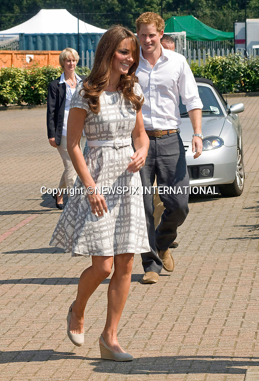 "CATHERINE, DUCHESS OF CAMBRIDGE AND PRINCE HARRY.attend the sports-themed event, to launch the Coach Core programme, a partnership between their Foundation and Greenhouse at Bacon's College, South London_26/07/2012.Mandatory credit photo: ©Dias/NEWSPIX INTERNATIONAL..(Failure to credit will incur a surcharge of 100% of reproduction fees)..                **ALL FEES PAYABLE TO: ""NEWSPIX INTERNATIONAL""**..IMMEDIATE CONFIRMATION OF USAGE REQUIRED:.Newspix International, 31 Chinnery Hill, Bishop's Stortford, ENGLAND CM23 3PS.Tel:+441279 324672  ; Fax: +441279656877.Mobile:  07775681153.e-mail: info@newspixinternational.co.uk"