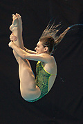 Maddison Keeney of Australia in the Women's Individual 3m dive during the FINA/CNSG Diving World Series 2019 at London Aquatics Centre, London, United Kingdom on 19 May 2019.