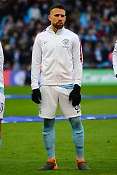 NICOLAS OTAMENDI MANCHESTER CITY, Arsenal v Manchester City Carabao League Cup Final, Wembley Stadium, Sunday 25th February 2018, Score Arsenal 0- Man City 3.
