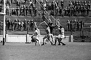26/05/1968<br /> 05/26/1968<br /> 26 May 1968<br /> National Hurling League Final: Kerry v Antrim at Croke Park, Dublin.<br /> Melee near the Antrim goalmouth.