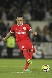 November 5, 2017 - Guimaraes, Guimaraes, Spain - Benfica's Serbian midfielder Ljubomir Fejsa during the Premier League 2017/18 match between Vitoria SC and SL Benfica, at Dao Afonso Henriques Stadium in Guimaraes on November 5, 2017. (Credit Image: © Dpi/NurPhoto via ZUMA Press)