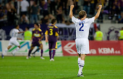 Veli Lampi of Zurich celebrates at Third Round of Champions League qualifications football match between NK Maribor and FC Zurich,  on August 05, 2009, in Ljudski vrt , Maribor, Slovenia. Zurich won 3:0 and qualified to next Round. (Photo by Vid Ponikvar / Sportida)