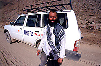 Kash Gabriele Torsello on the Road in Badakhshan with UNFPA Team