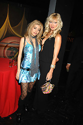 Left to right, WAFAH DUFOUR Osama bin Laden's niece and model CAPRICE at Andy & Patti Wong's Chinese new Year party held at County Hall and Dali Universe, London on 26th January 2008.<br /> <br /> NON EXCLUSIVE - WORLD RIGHTS (EMBARGOED FOR PUBLICATION IN UK MAGAZINES UNTIL 1 MONTH AFTER CREATE DATE AND TIME) www.donfeatures.com  +44 (0) 7092 235465