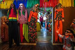 Casa dos Bonecos Gigantes de Olinda. FOTO: Jefferson Bernardes/ Agência Preview