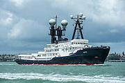 88 metre motor yacht Arctic P, Auckland